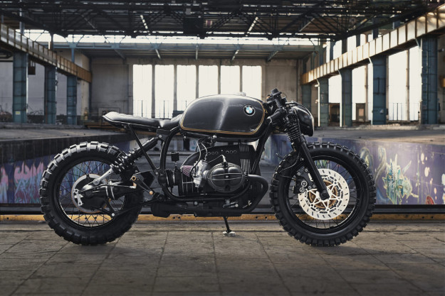 The Top 10 Custom Motorcycles of 2015: Diamond Atelier's BMW R100R.