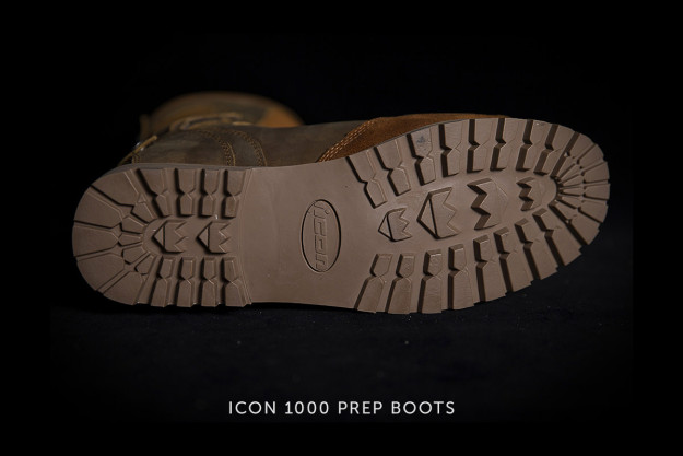 ICON 1000 Prep motorcycle boots