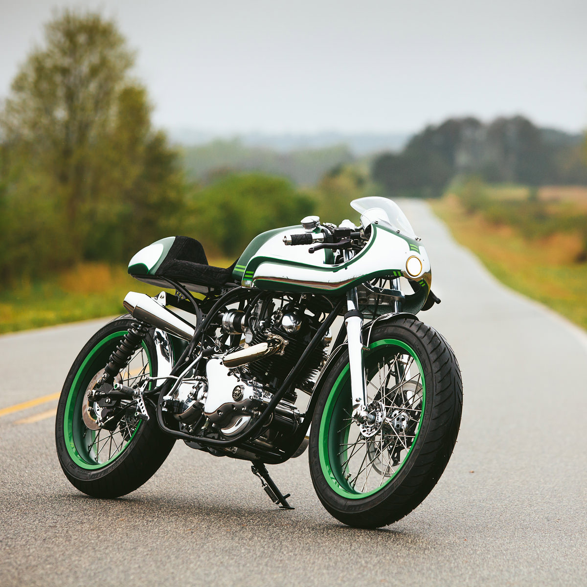 Fuller Moto S Minty Fresh Norton Commando 750 Bike Exif