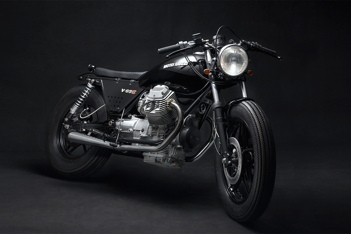 Better Than Factory: the Venier Customs Moto Guzzi V65