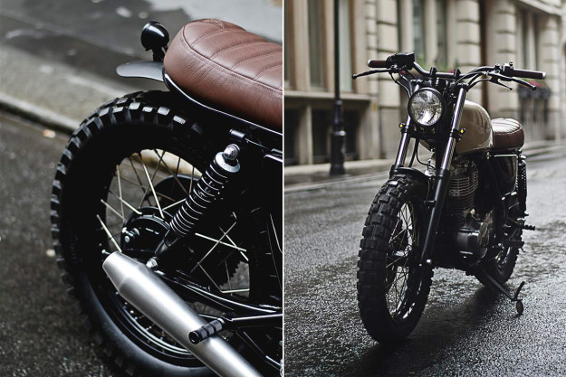 Better Than Factory: Auto Fabrica's Yamaha SR400 custom.
