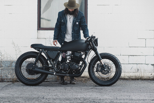 The Top 10 Custom Motorcycles of 2015: custom 1978 Honda CB750 by Clockwork Motorcycles
