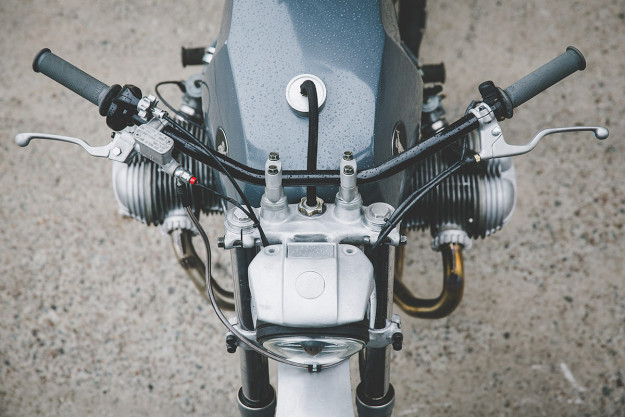 Tim Harney's custom BMW R75/6 is an essay in simplicity—as befits a former industrial designer.
