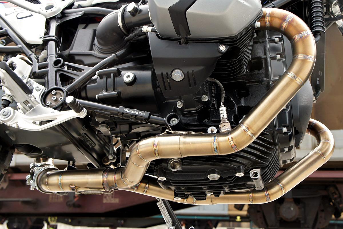 Luis Moto: A BMW R nineT scrambler, Italian Style | Bike EXIF