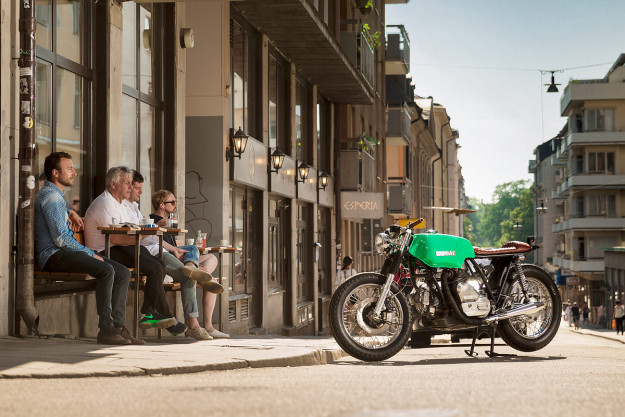 Swede Dreams Are Made Of This: A stunning Ducati 860 GT from Stockholm.