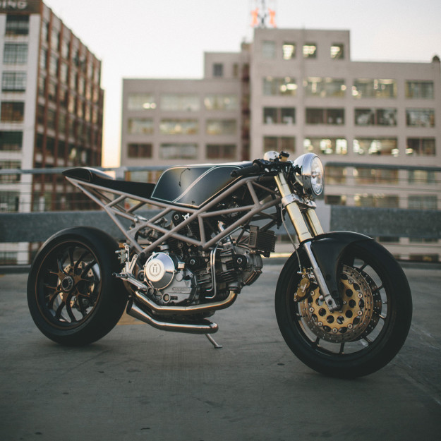 The motorcycle as art: Ducati MH900 by Hazan Motorworks.