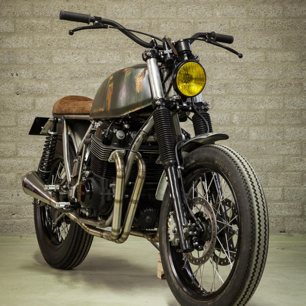 Custom Honda CB750F2 by Outsiders Motorcycles.