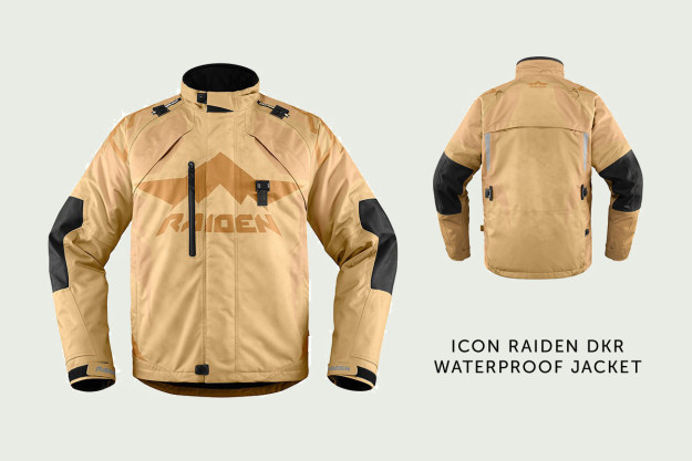 Icon Raiden motorcycle jacket.