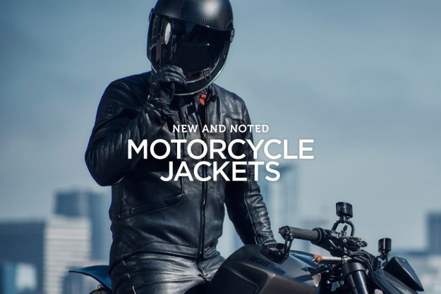 The best new motorcycle jackets for men.