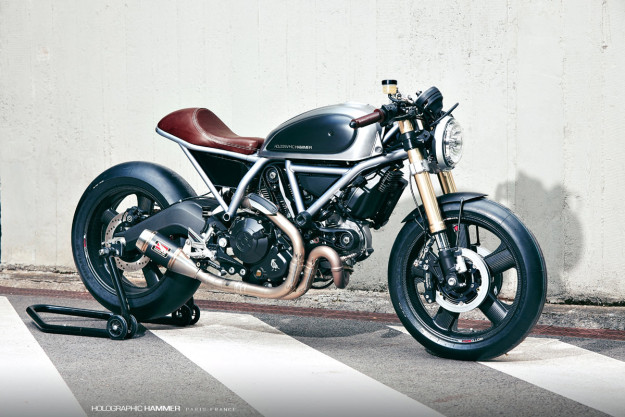 The Top 10 Custom Motorcycles of 2015: Holographic Hammer's Ducati Scrambler