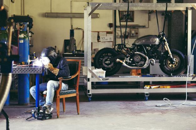 Holographic Hammer's Ducati Scrambler