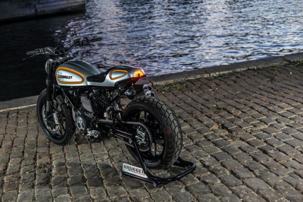 Custom Ducati Scrambler by world champion bike builder Fred Krugger.