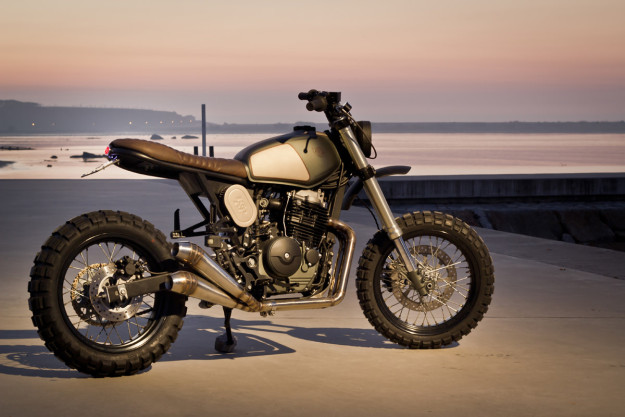 The Top 10 Custom Motorcycles of 2015: Ton-Up Garage's Honda 650.