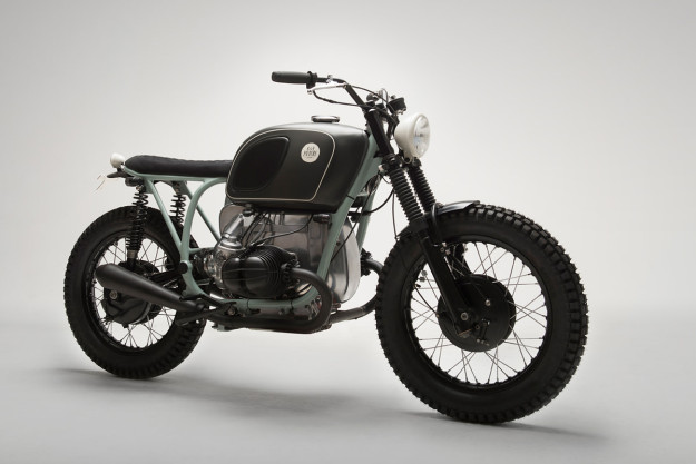 Custom BMW R75 bike from Stockholm.