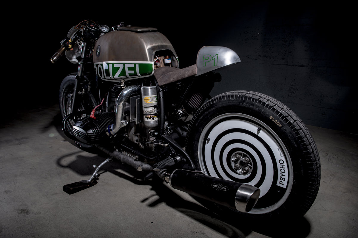 Not your usual BMW police bike: VTR's blown R80 | Bike EXIF