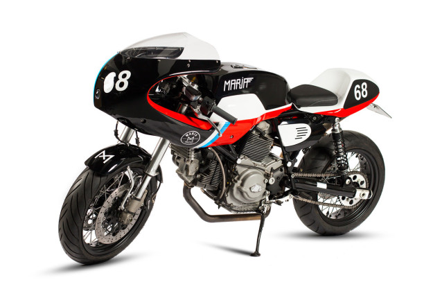 Track Day Teaser: custom Ducati GT 1000 by Maria Motorcycles.