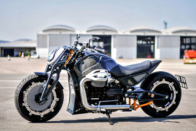 Lvpvs Alpha: an unapologetically modern Moto Guzzi California from Officine RossoPuro