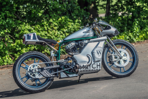 Miss Universe: Shaw Speed's racy Harley 48 custom