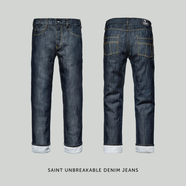 Saint Unbreakable Denim motorcycle jeans