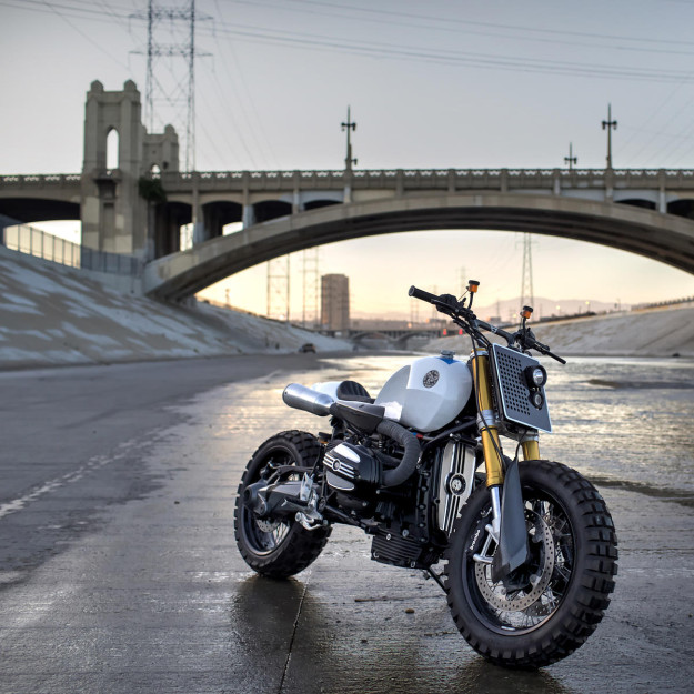 All killer, no filler: A BMW R nineT built by JSK Custom Design.