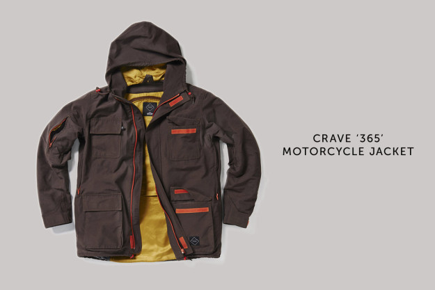 The Crave 365: a motorcycle jacket that wouldn't look out of place on an oil rig.
