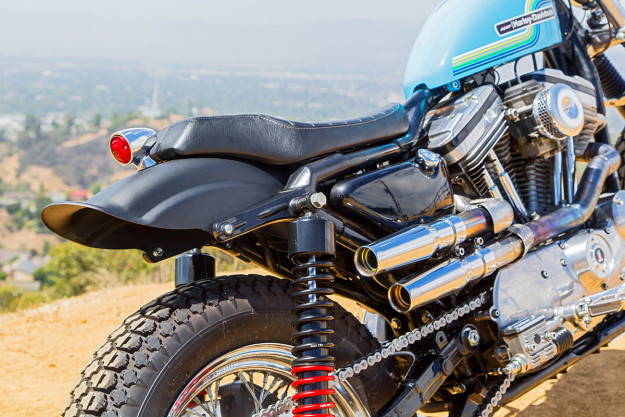 Hollywood Harley: A Sportster 883 Dirt Tracker | Bike EXIF