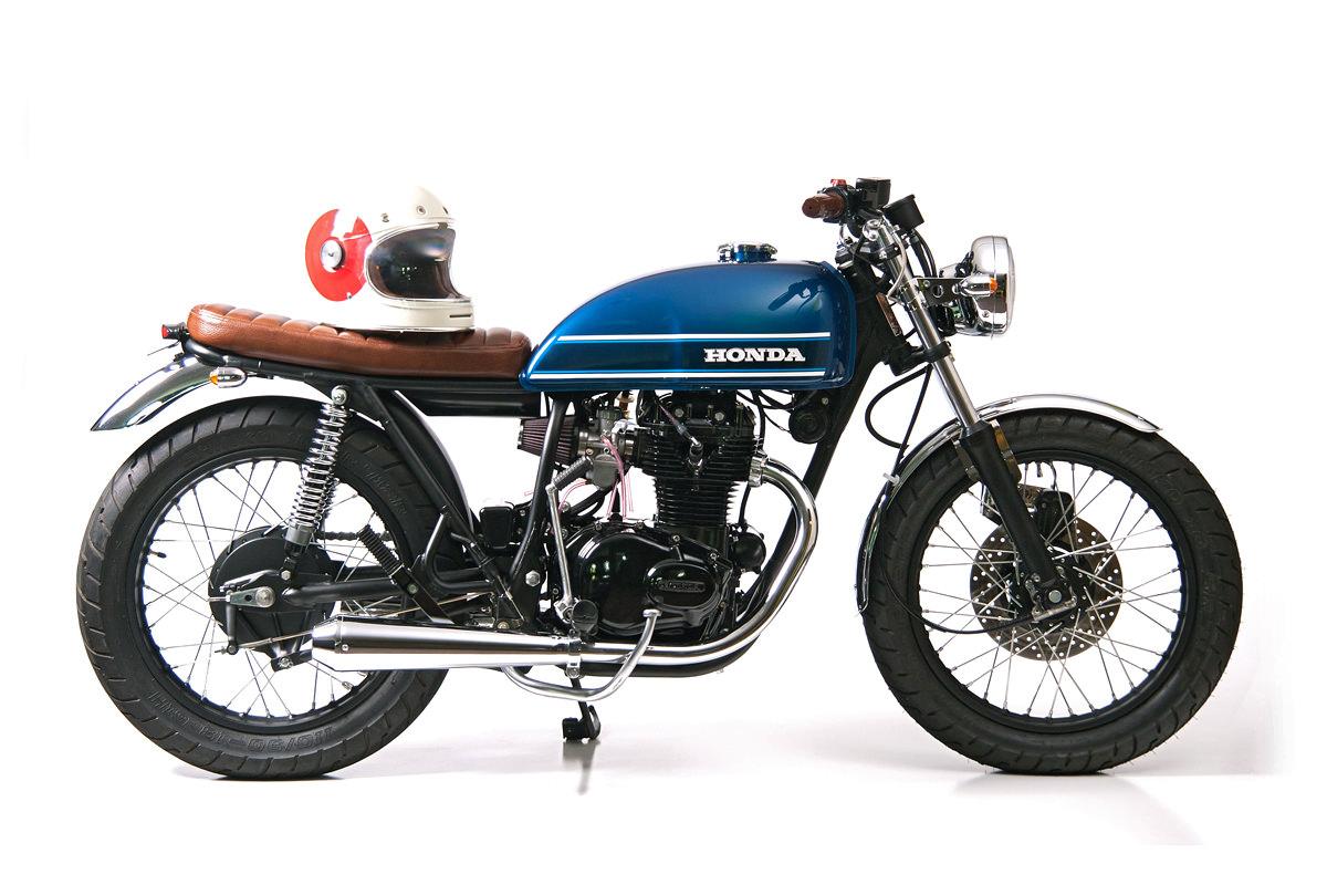 Lean 'n clean: Slipstream Creations' Honda CB360T | Bike EXIFBike EXIF