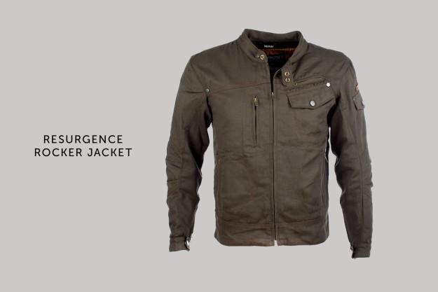 Resurgence Rocker motorcycle jacket.