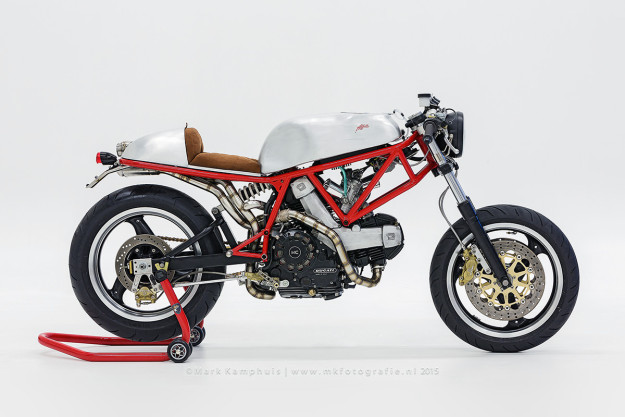 Custom Ducati 750 Sport by the Dutch workshop Affetto.