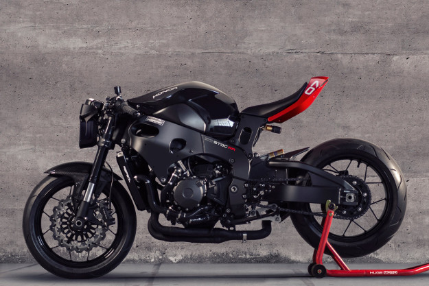 The Top 10 Custom Motorcycles of 2015: Huge Moto CBR1000RR café fighter