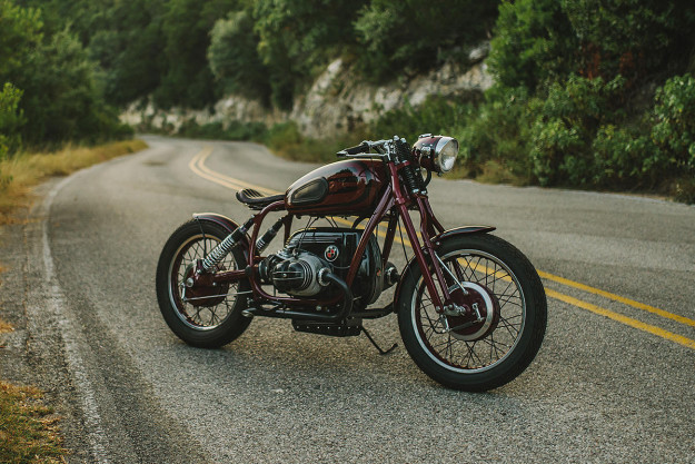 GTmoto's custom BMW R75