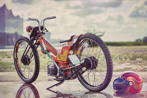 Danny Schramm's wild Kreidler moped | Bike EXIF