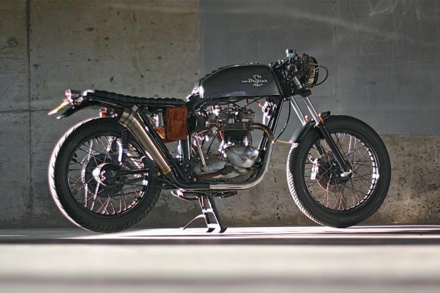 1973 Triumph Bonneville custom by Drifter Bikes.
