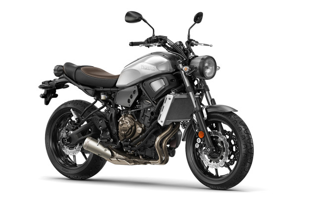 The new Yamaha XSR700.