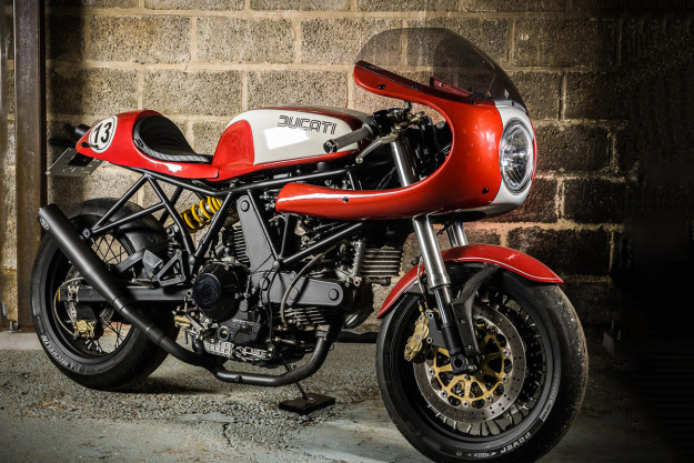 Ducati 900 SS by Barn Built Bikes.