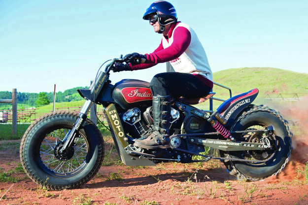 Custom Indian Scout: the Black Hills Beast
