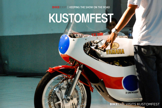 The Kustomfest show in Indonesia.