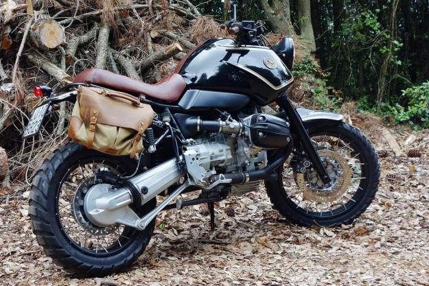 BMW R 1100 GS 'Urban Scrambler' by Officine Sbrannetti.
