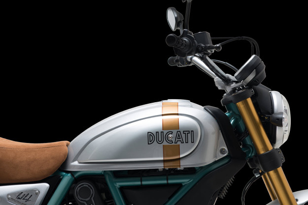 Limited edition Ducati Paul Smart Scrambler.