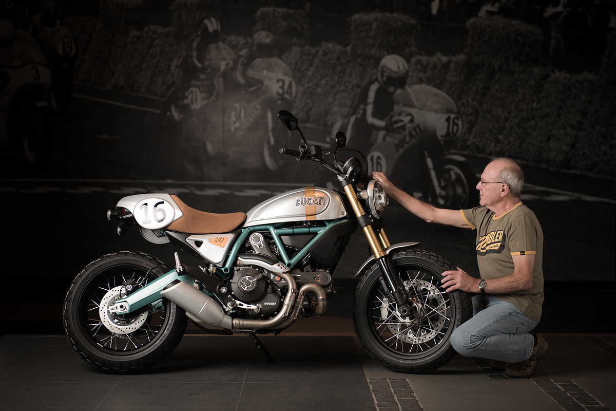 Limited edition Ducati Paul Smart Scrambler.