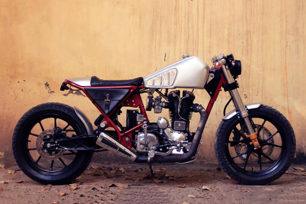 Royal Enfield 350 by Bull City Customs