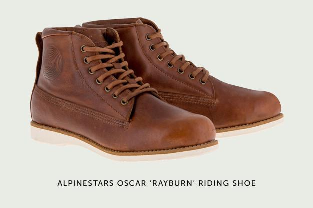 Alpinestars OSCAR Rayburn motorcycle boots