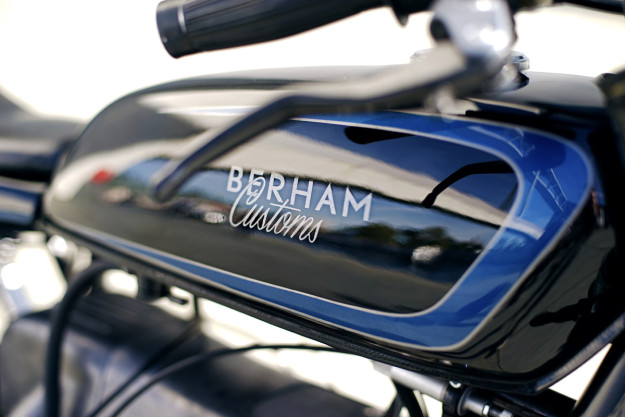 A waspish BMW R100/7 from Berlin-based Berham Customs.