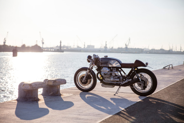 A Moto Guzzi Le Mans with V11 power from Kaffeemaschine