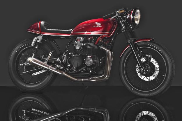 Honda CB550 by Lossa Engineering