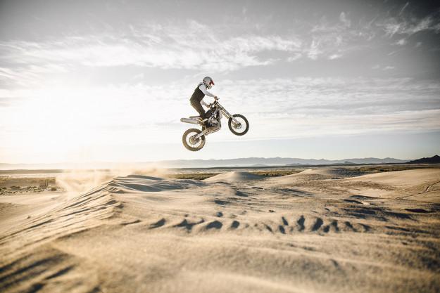 Motorcycle photographer Aaron Brimhall