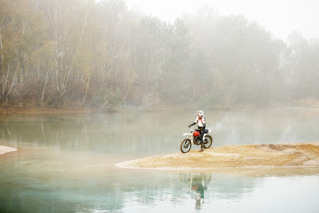 Motorcycle photographer David Marvier