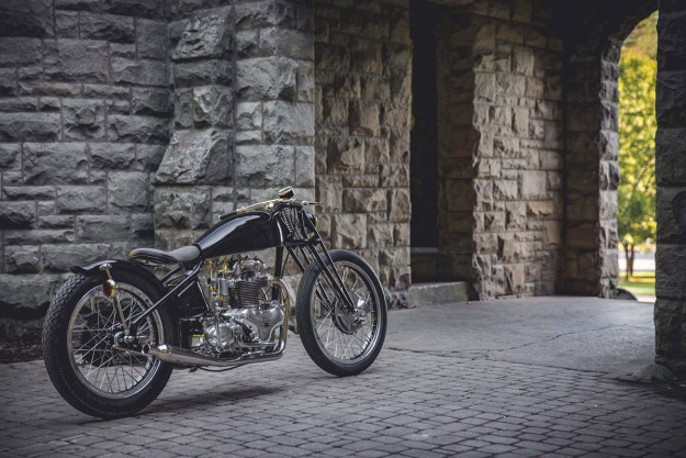 Better Than A Barn Find: Norton Dominator restored by The Gasbox