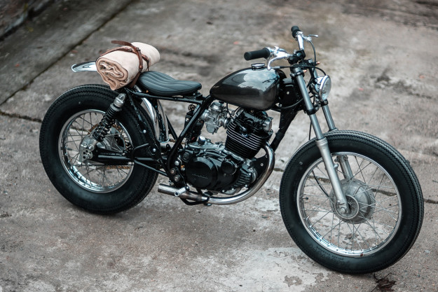 A laid-back Yamaha SR250 SE from Hookie Co.