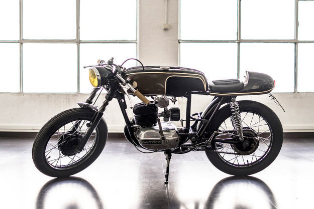 Custom Bultaco by Gas Department